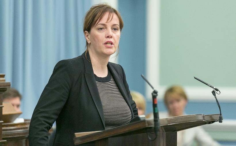 Svandís Svavarsdóttir var sem þingmaður sammála mati lækna.