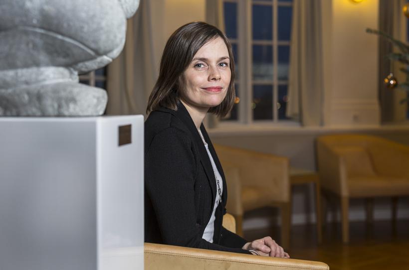 """Katrín Jakobsdóttir, leader of the Left-Green Movement: """"Trust between the …"""