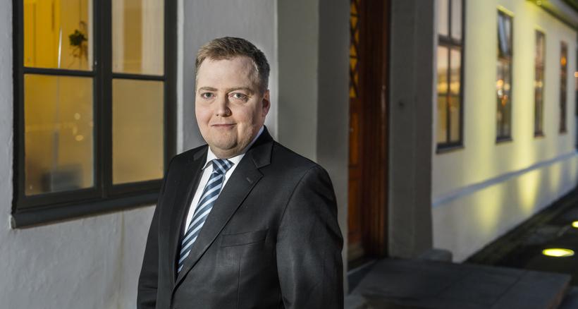 Prime Minister Sigmundur Davíð Gunnlaugsson