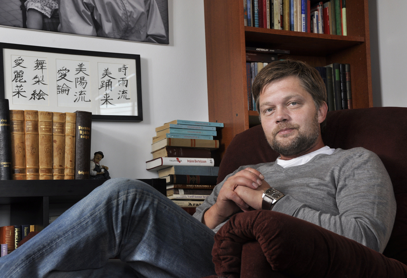 Jóhannes K. Kristjánsson, founder of Reykjavik Media.