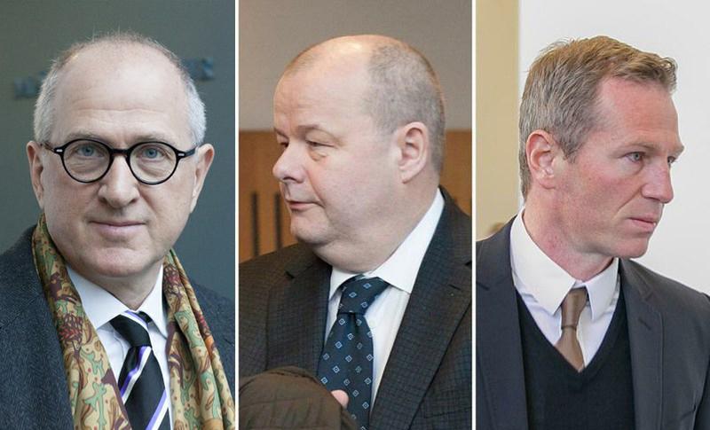 Ólafur Ólafsson, Sigurður Einarsson and Magnús Guðmundsson.