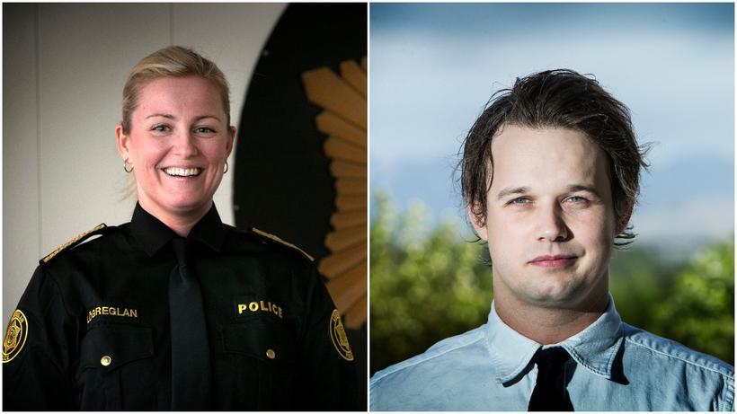 Alda Hrönn Jóhannsdóttir og Gunnar Scheving Thorsteinsson.