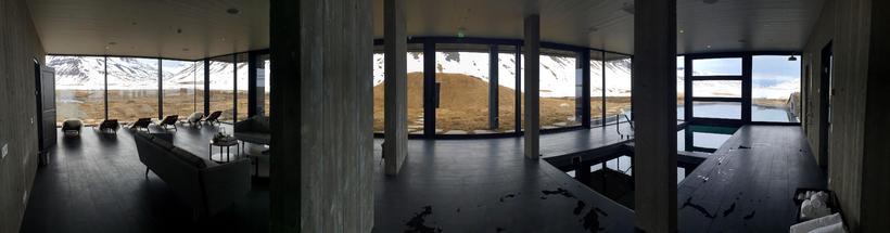 The ground floor offers stunning views.