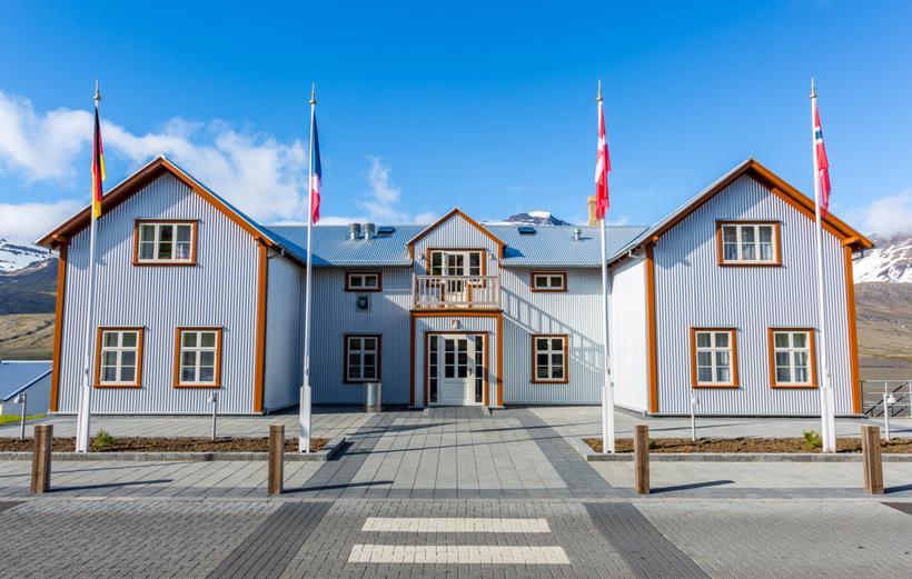 Hús Fosshótel Austfjarða hefur hlotið Evrópsku menningarverðlaunin.