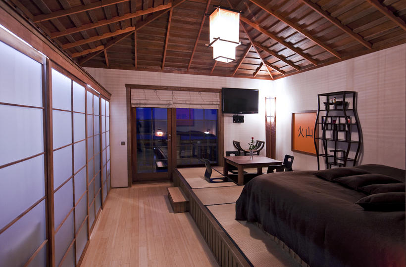 This is the stunning Asia suite at Hótel Rangá in ...