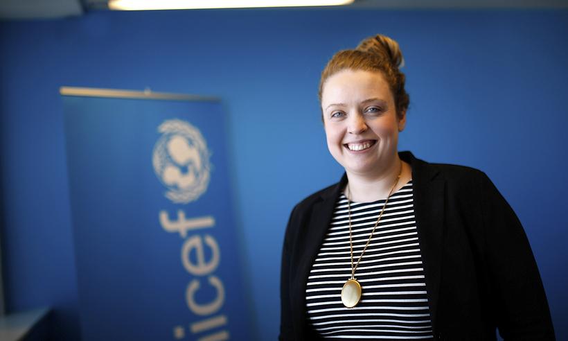Hjördís Eva Þórðardóttir, verkefnastýra innanlandsdeildar UNICEF á Íslandi.