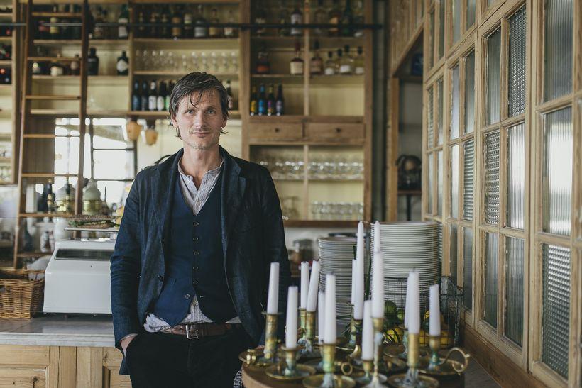 Pétur Marteinsson, owner of Kex Hostel.