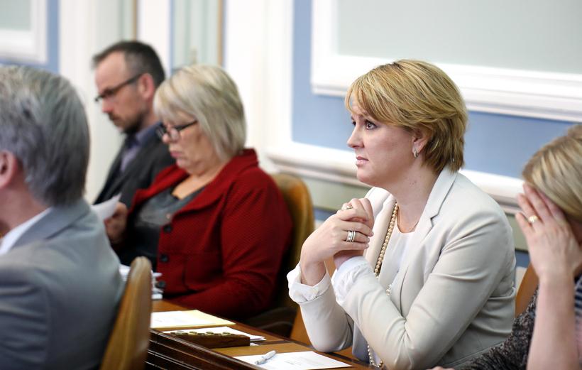 Hanna Birna Kristjánsdóttir hefur tekið sæti á Alþingi að nýju.
