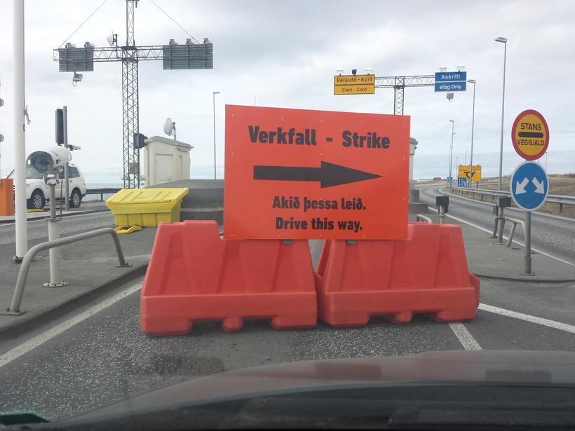 Is Iceland facing a general strike?
