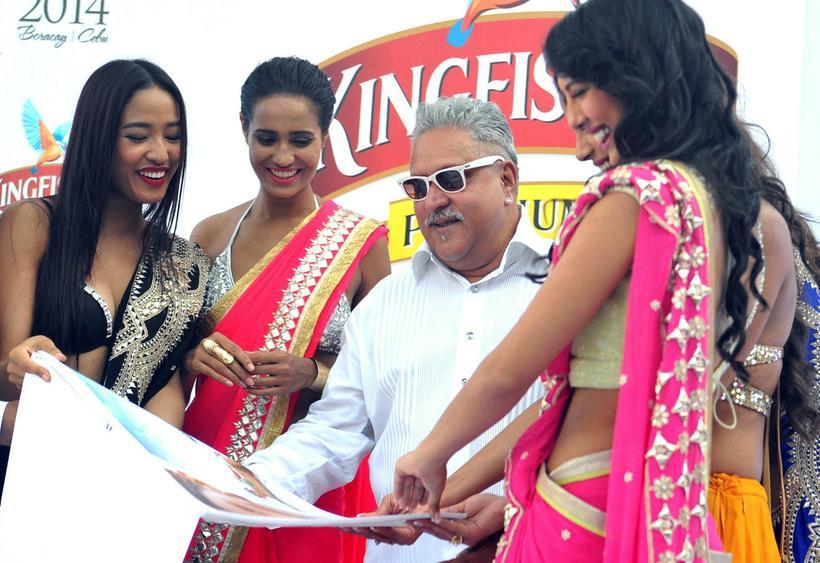 Vijay Mallya árið 2014.