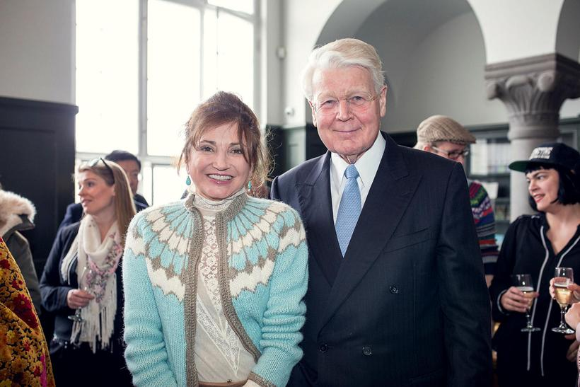 Image result for First Lady Dorrit Moussaieff & President Olafur Grimsson of Iceland