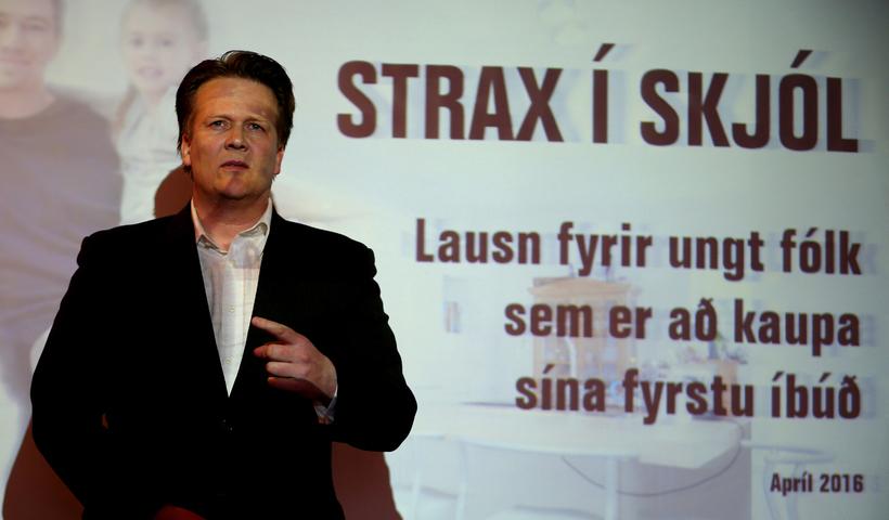 Hallgrímur Óskarsson kynnir Strax í skjól.