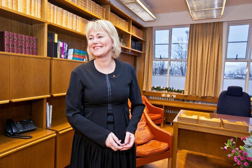Oddný G. Harðardóttir, formaður Samfylkingarinnar.