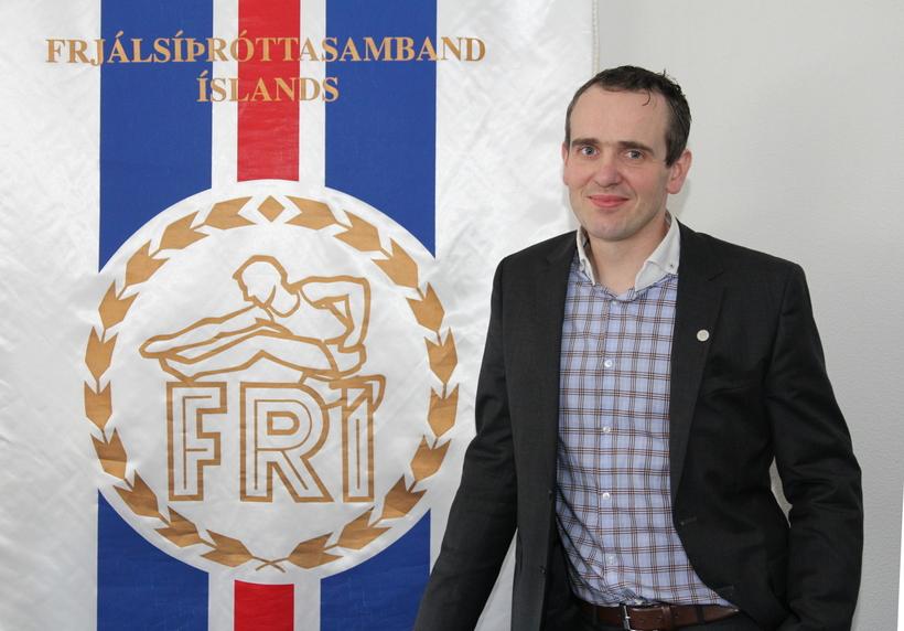 Freyr Ólafsson, nýkjörinn formaður Frjálsíþróttasambands Íslands.