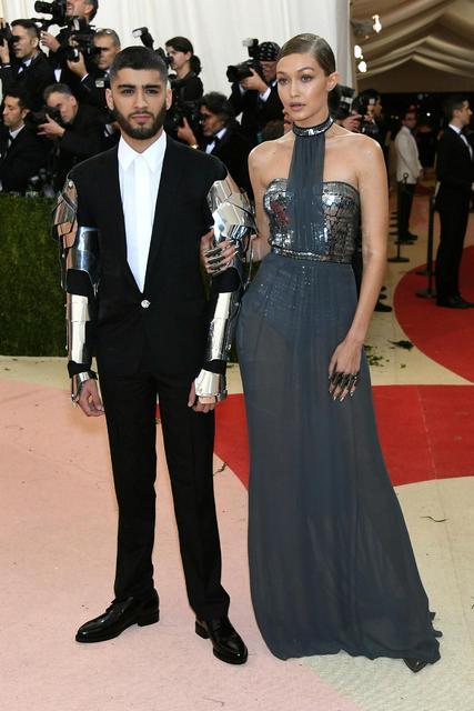 Gigi Hadid og Zayn Malik voru lengi sundur og saman.