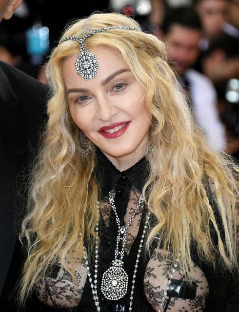 Madonna árið 2016.