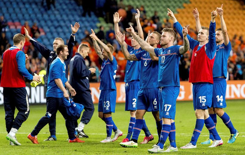 The Iceland men's football team is in the Euro finals …