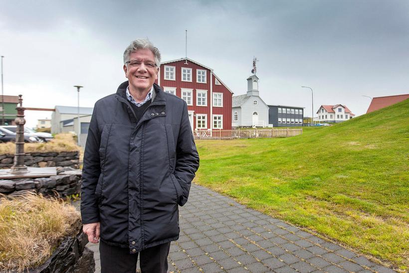Sturla Böðvarsson bæjarstjóri í Stykkishólmi.