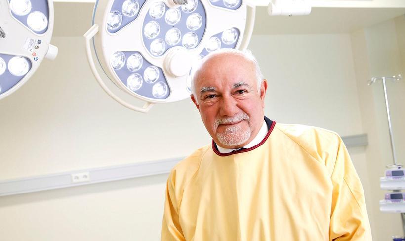 Cardiologist Pedro Brugada at Klínikin in Ármúli, Reykjavik.