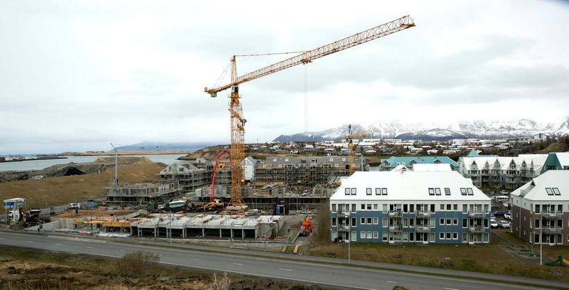 Á bilinu 190 til 250 íbúðir verða byggðar í Bryggjuhverfinu ...