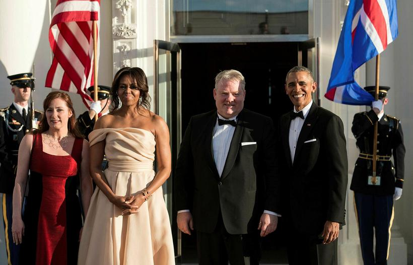 The President and First Lady of the United States and ...