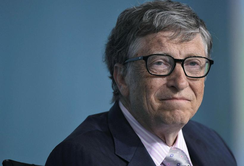 Microsoft co-founder and philanthropist Bill Gates.