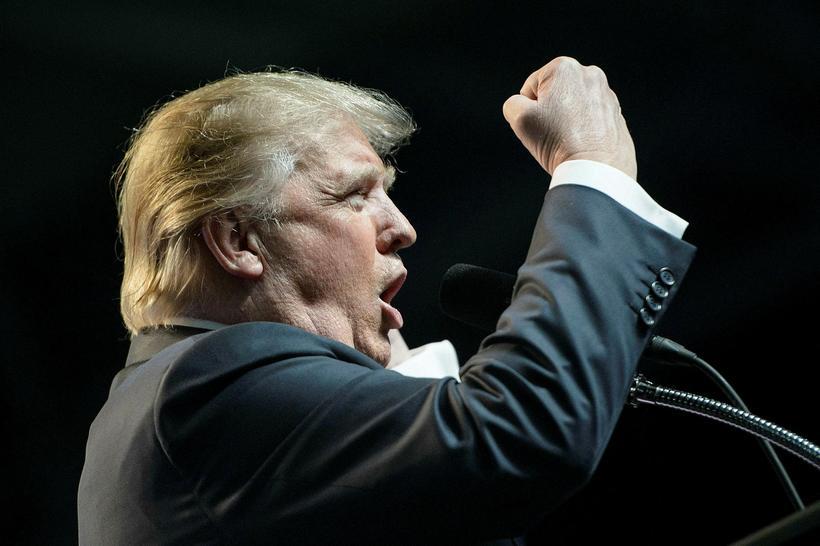 Forsetaframbjóðandinn Donald Trump.