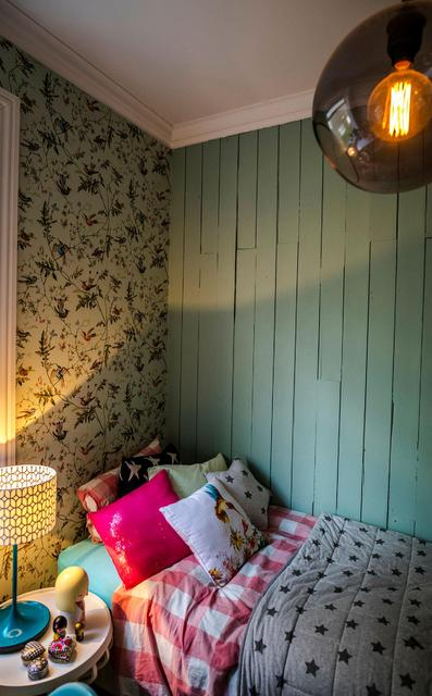 The girl's room has wallpaper by Cole and Son available ...
