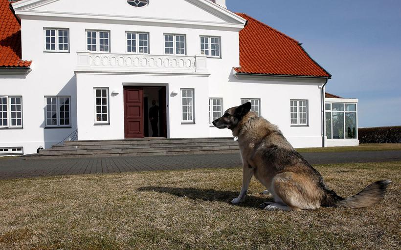 EYES ON THE PRIZE: Bessastaðir is the official residence of ...