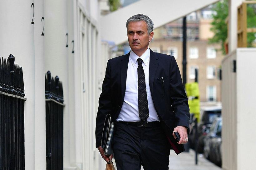 José Mourinho, knattspyrnustjóri Manchester United.