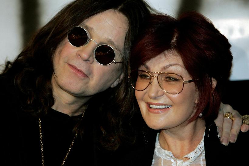 Ozzy og Sharon Osbourne.