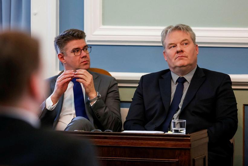 Gunnar Bragi Sveinsson ásamt Sigurði Inga Jóhannssyni, formanni Framsóknarflokksins. Nú ...