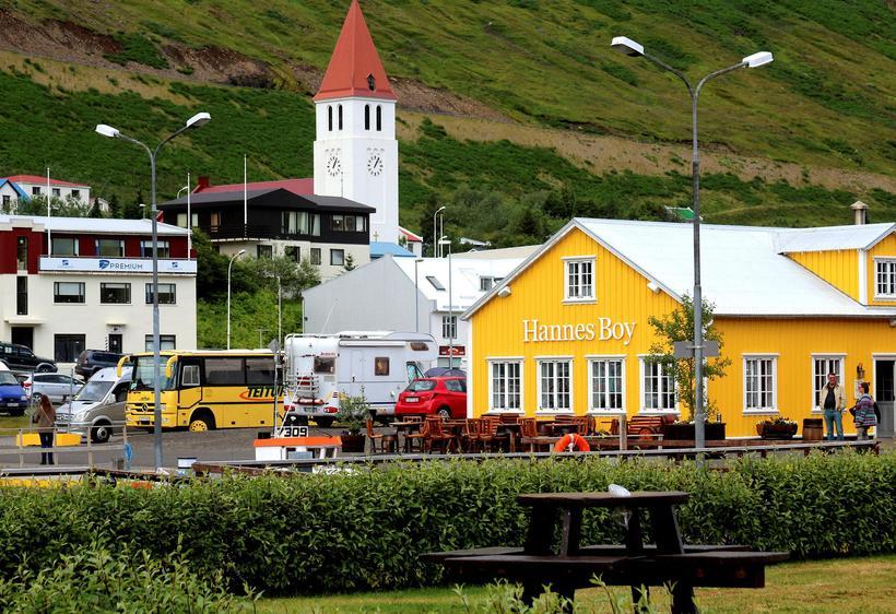 Siglufjörður er hluti af Fjallabyggð.