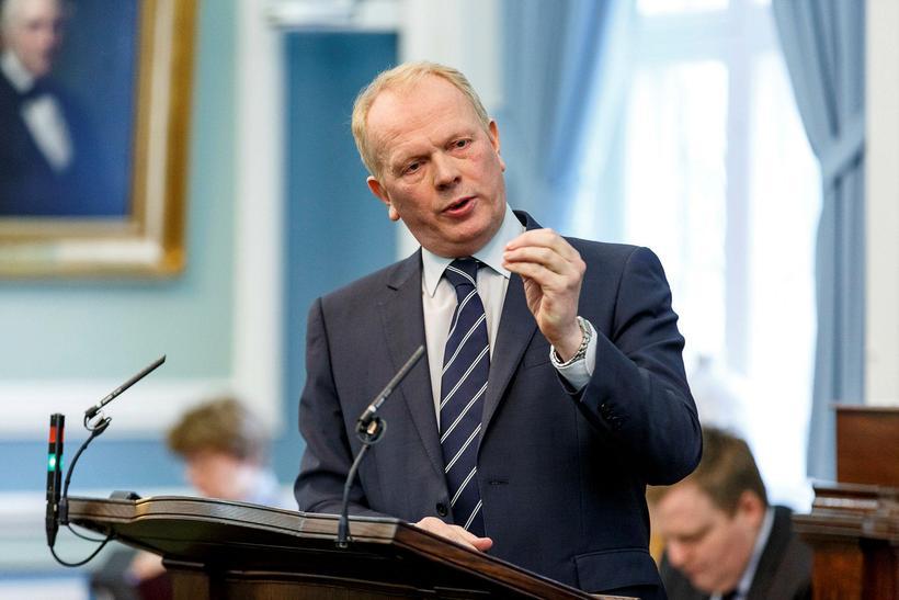 Illugi Gunnarsson menntamálaráðherra.