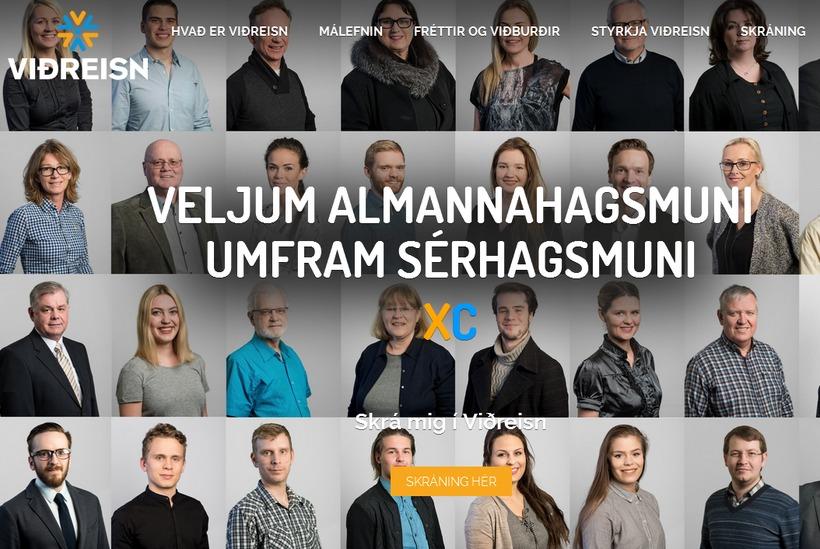 Viðreisn hefur fengið úthlutað listabókstafnum C. Stjórnmálasamtök hafa mjög rúman ...