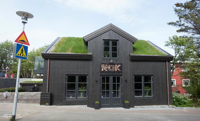 Staðurinn ROK er á besta stað í bænum, á Frakkastíg ...