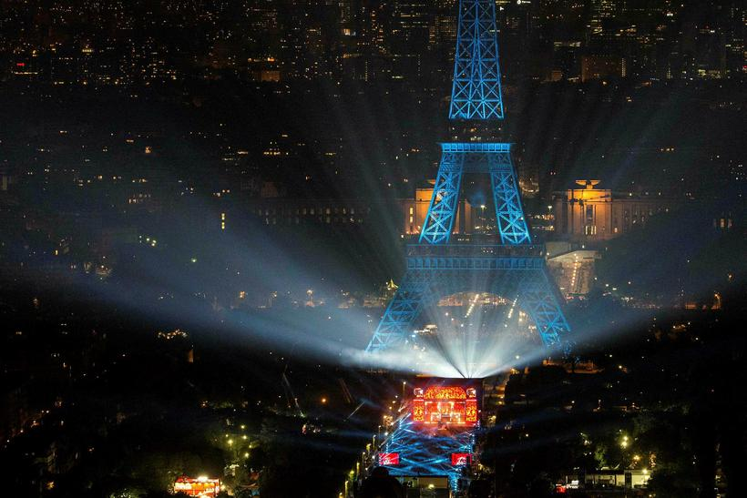 Paris is hosting the Euro 2016 opening ceremony this evening.