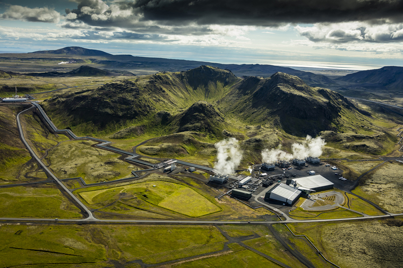 The Hellisheiði Power Station.