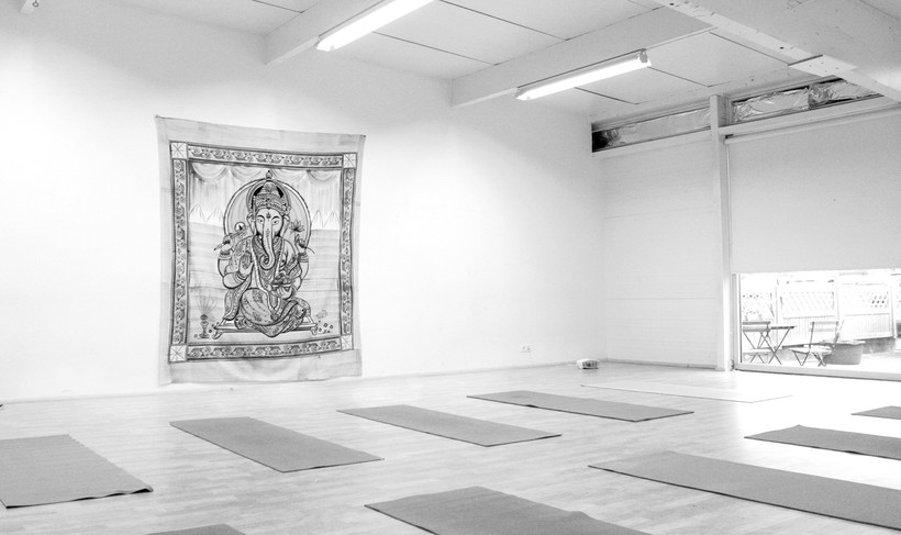 Reykjavik Yoga is situated in the Dance Atelier next to ...