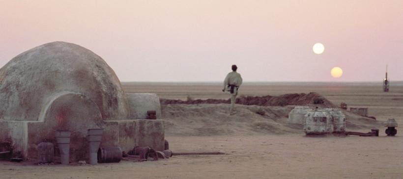 Reikistjarnan Tatooine var á braut um tvístirni en menn hafa ...