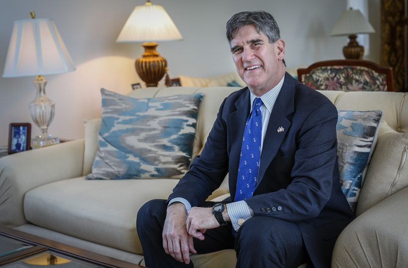 US ambassador to Iceland Robert C. Barber.