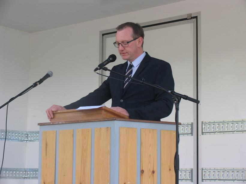 Páll Björgvin Guðmundsson, bæjarstjóri Fjarðabyggðar.