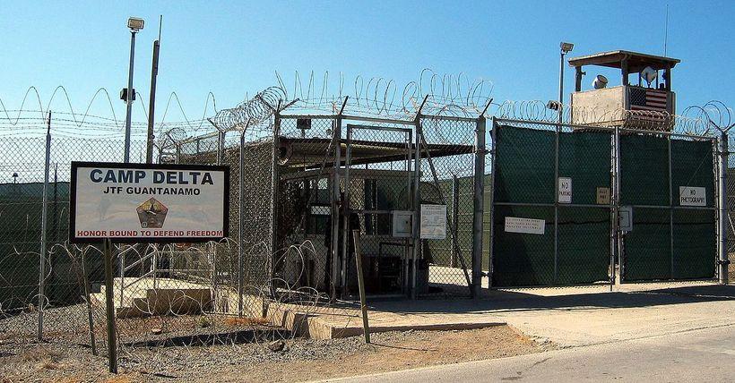 Guantanamo herfangelsið.