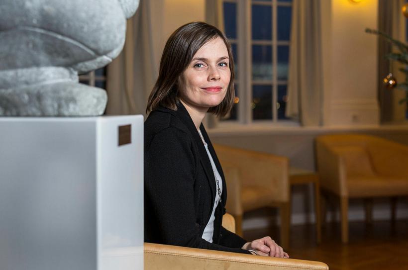 Katrín Jakobsdóttir, formaður Vinstri grænna.