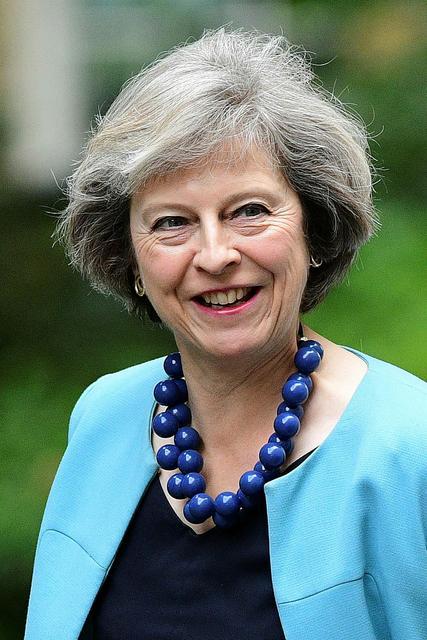Theresa May, innanríkisráðherra Bretlands.