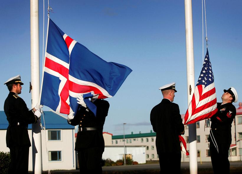 The US Army left Iceland in 2006. Could they be …