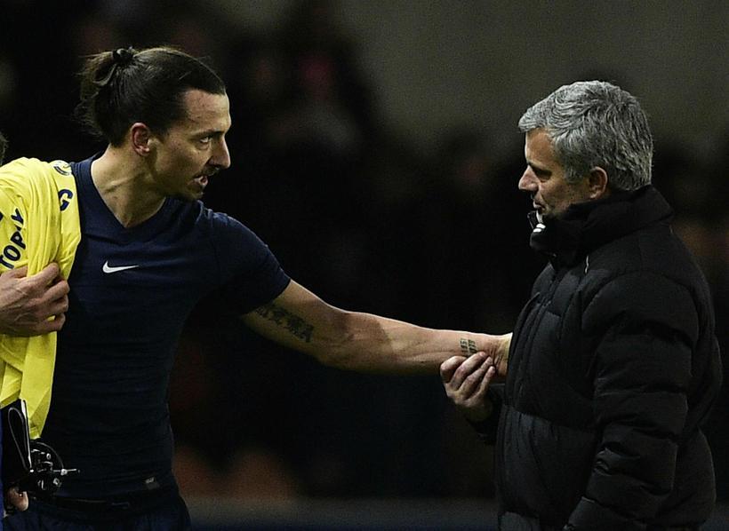Mourinho og Zlatan eru komnir til Manchester United.