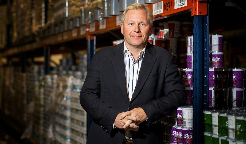 Ari Edwald, forstjóri MS og stjórnarformaður Heilsupróteins.