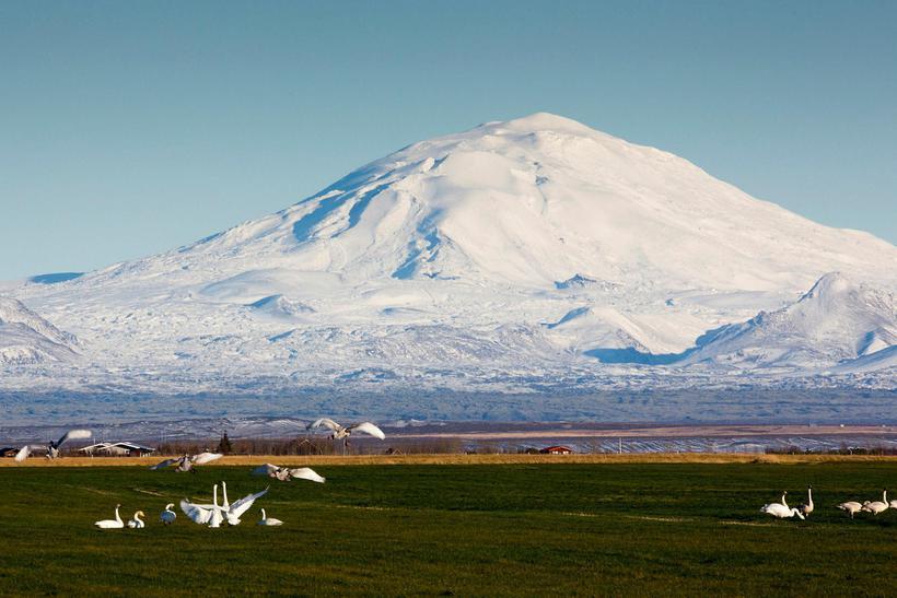 hekla iceland s most dangerous volcano iceland monitor. Black Bedroom Furniture Sets. Home Design Ideas