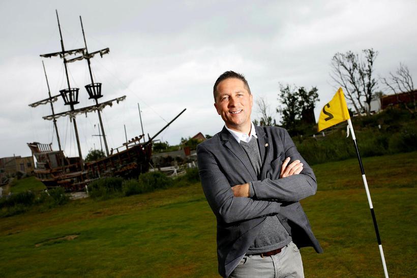 Eyþór Guðjónsson, owner of Skemmtigarðurinn in Grafarvogur.